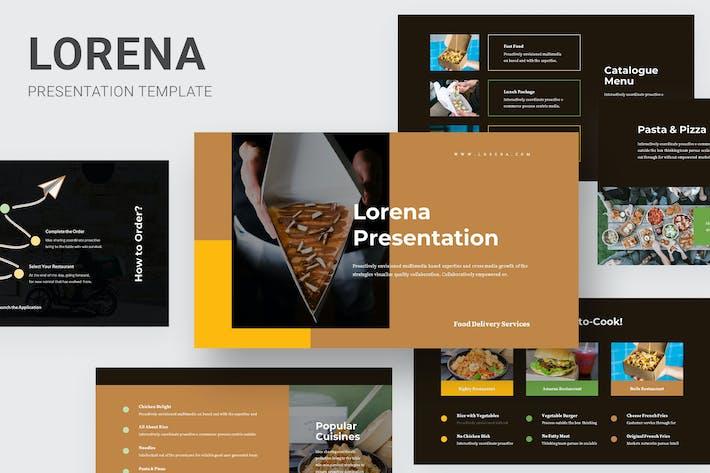 Thumbnail for Lorena: Keynote услуги по доставке продуктов питания