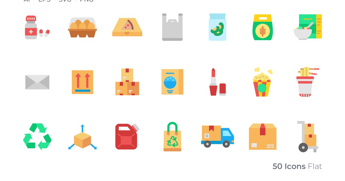 Download Packaging Color Icon by GoodWare_Std