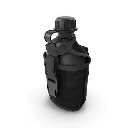 Water Bottle Canteen with Military Pouch