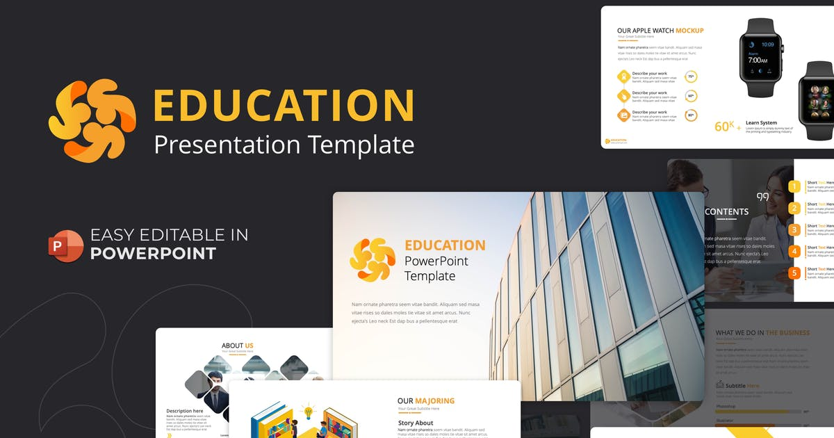 Download Education PowerPoint Template by Premast