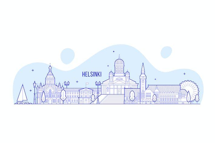 Thumbnail for Helsinki skyline, Finland