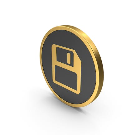 Gold Save Icon