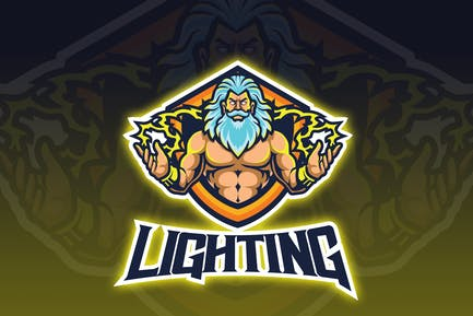 Lighting God Esport Logo