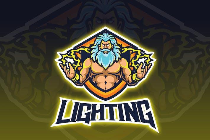 Thumbnail for Lighting God Esport Logo