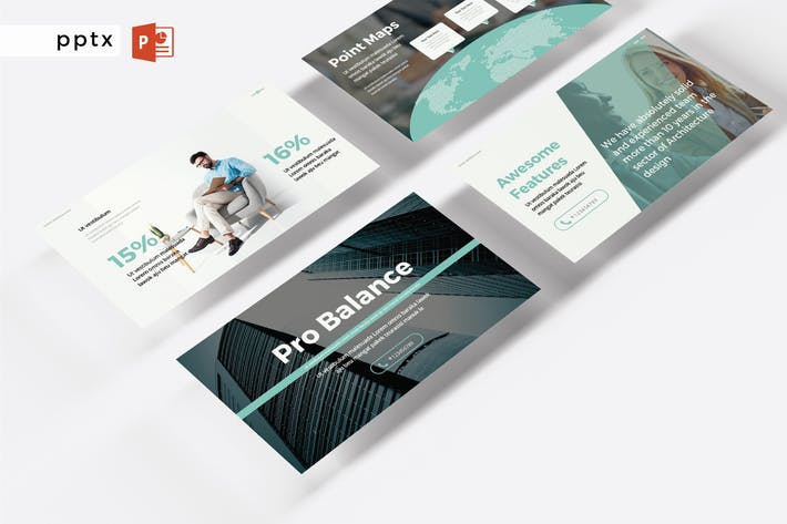 Cover Image For PRO BALANCE - Powerpoint  V392