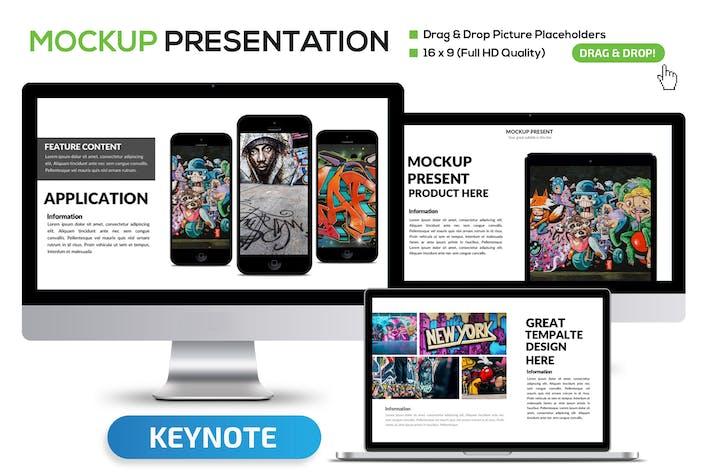 Thumbnail for Mockup Keynote