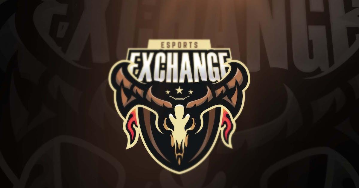 Exchange Sport and Esports Logos by ovozdigital