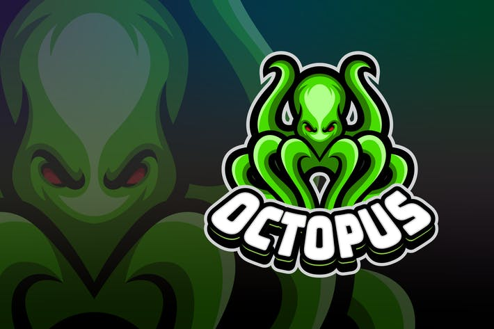 Thumbnail for awesome octopus creative logo template