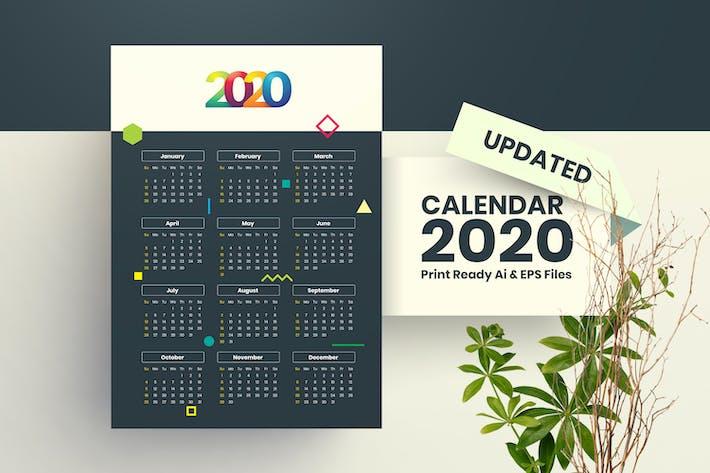 Thumbnail for New Calendar 2020
