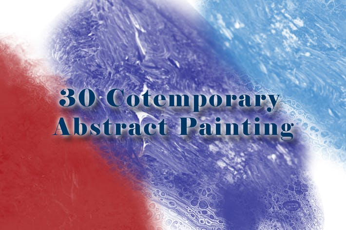 Thumbnail for 30 Cotemporary Abstract Painting Brushes