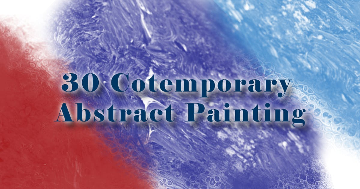 Download 30 Cotemporary Abstract Painting Brushes by gblack-id