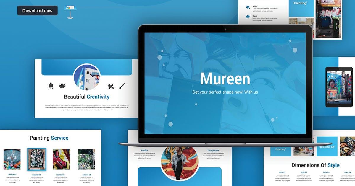 Download Mureen - Keynote Template by SlideFactory