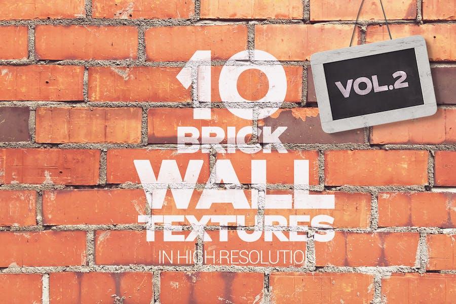 Ziegelmauertexturen x10 vol2