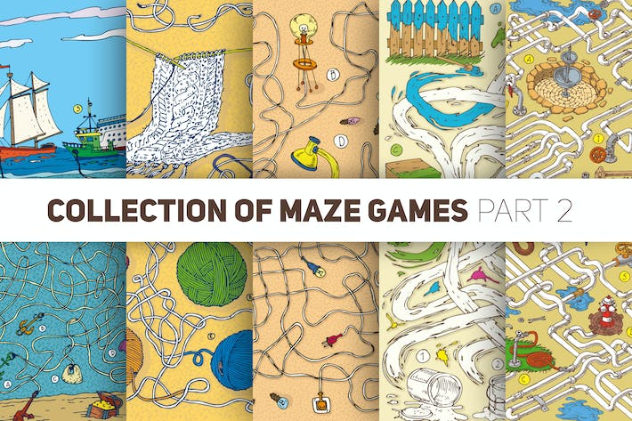 Thumbnail for New Collection of Maze Games