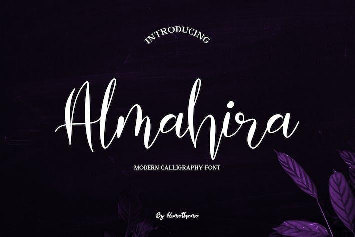 Thumbnail for Almahira Script Font YR