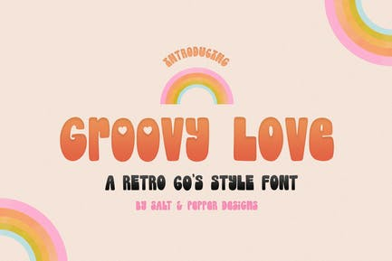 Groovy Love Font