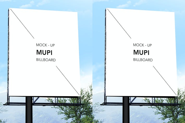 Thumbnail for Mock Up Mupi Billboard Vol 04