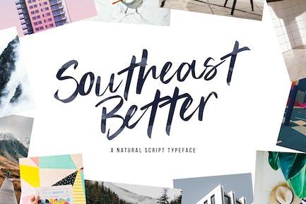Southeast Better - Types de caractères manuscrits