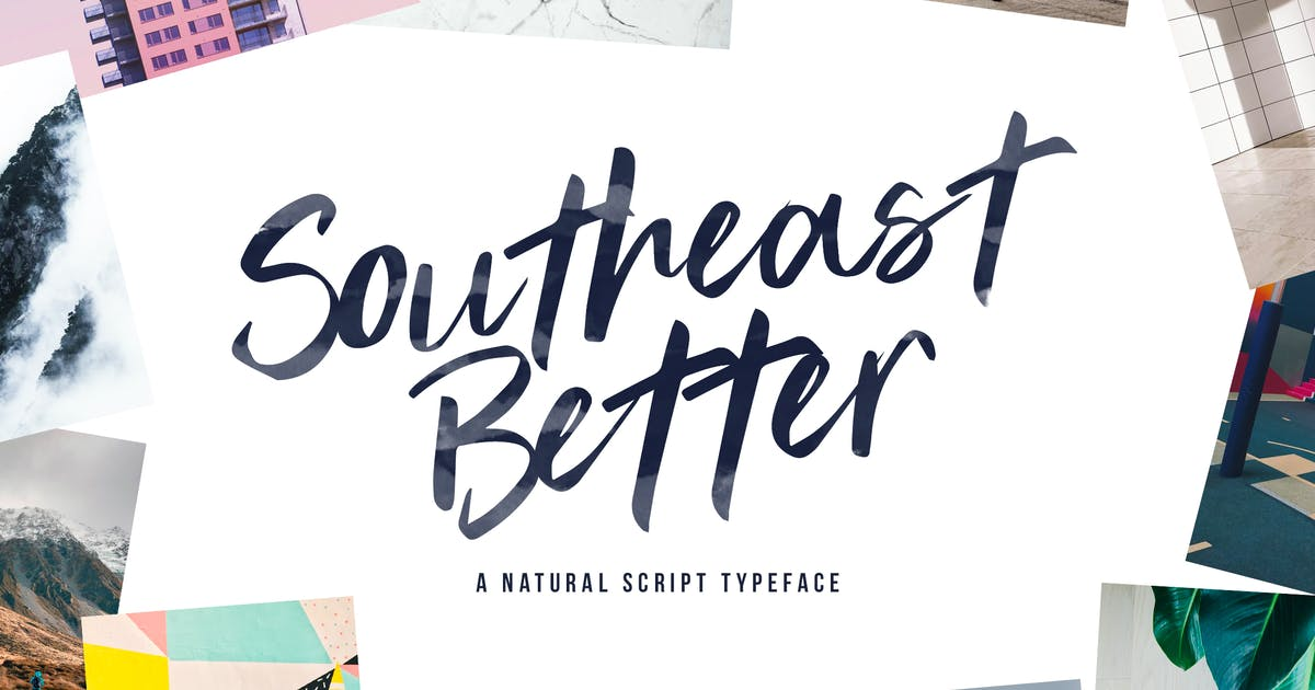 Download Southeast Better - Handwritten Script Typeface by Slidehack
