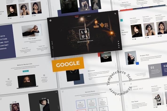 Thumbnail for Lulu Business Google Slide