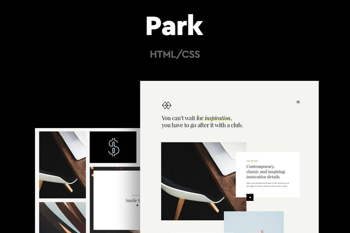 Thumbnail for Park - Modèle HTML Réalisations créatif