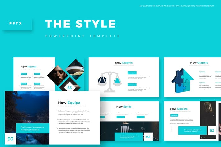 Thumbnail for The Style - Powerpoint Template