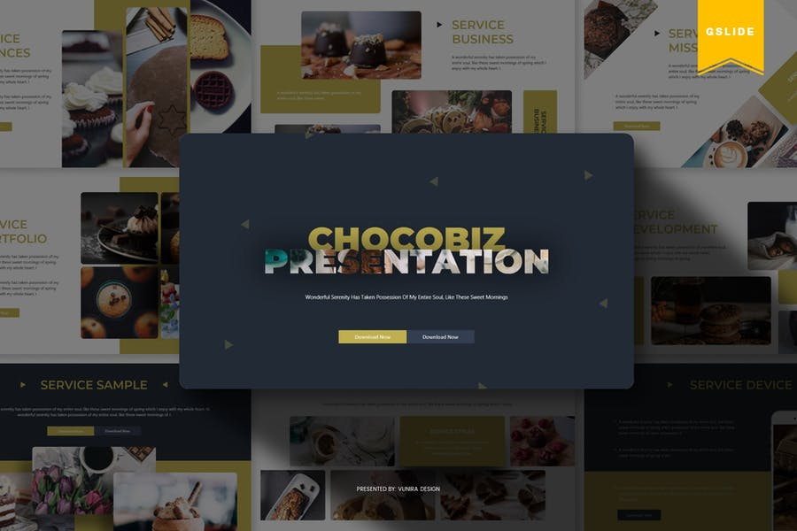 Chocobiz  | Google Slides Template