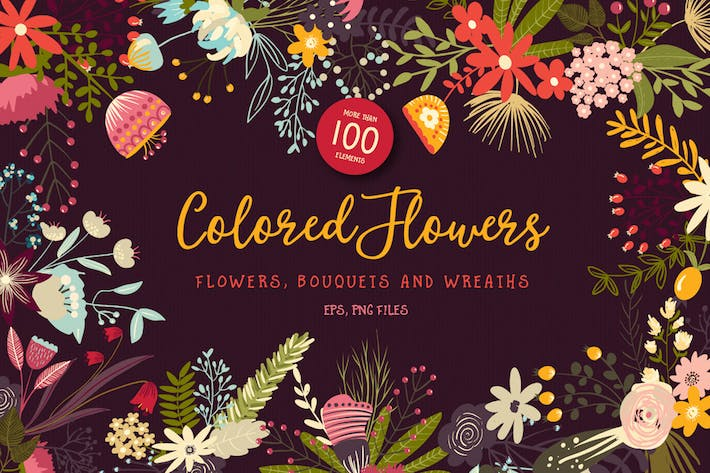 Thumbnail for Colored Flowers
