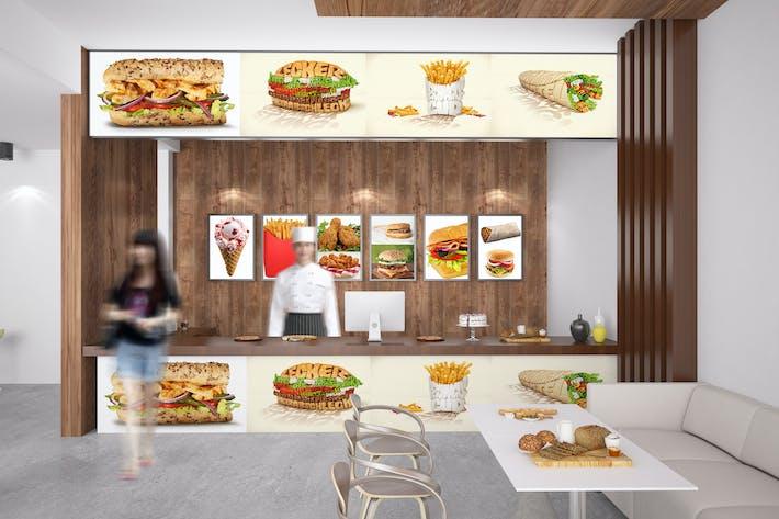 Thumbnail for Fast Food Mockup
