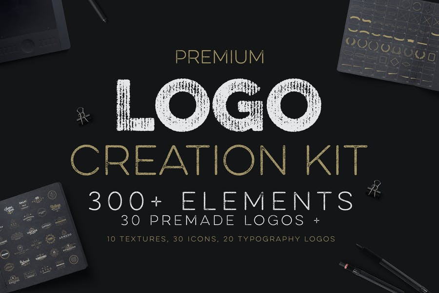 Kit de creación de logotipos