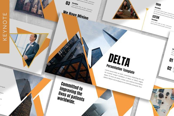 Thumbnail for Delta - Creative Keynote Template