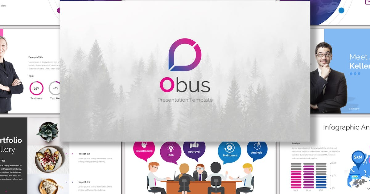 Download Obus - Keynote Template by inspirasign