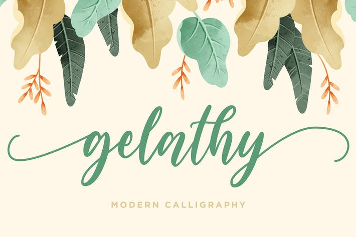 Thumbnail for Gelathy - Modern Calligraphy