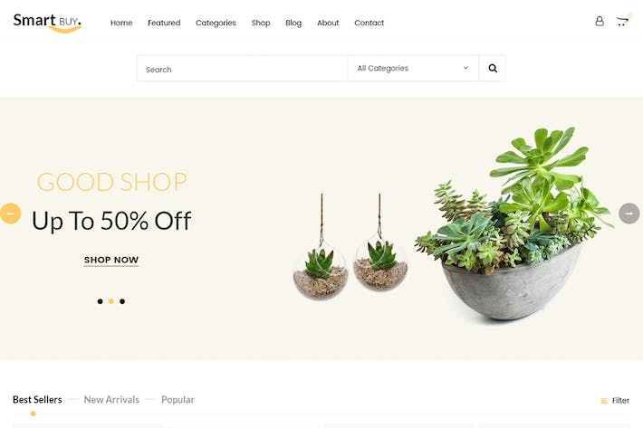 Thumbnail for Smartbuy - Prestashop For Digital and Garden Home