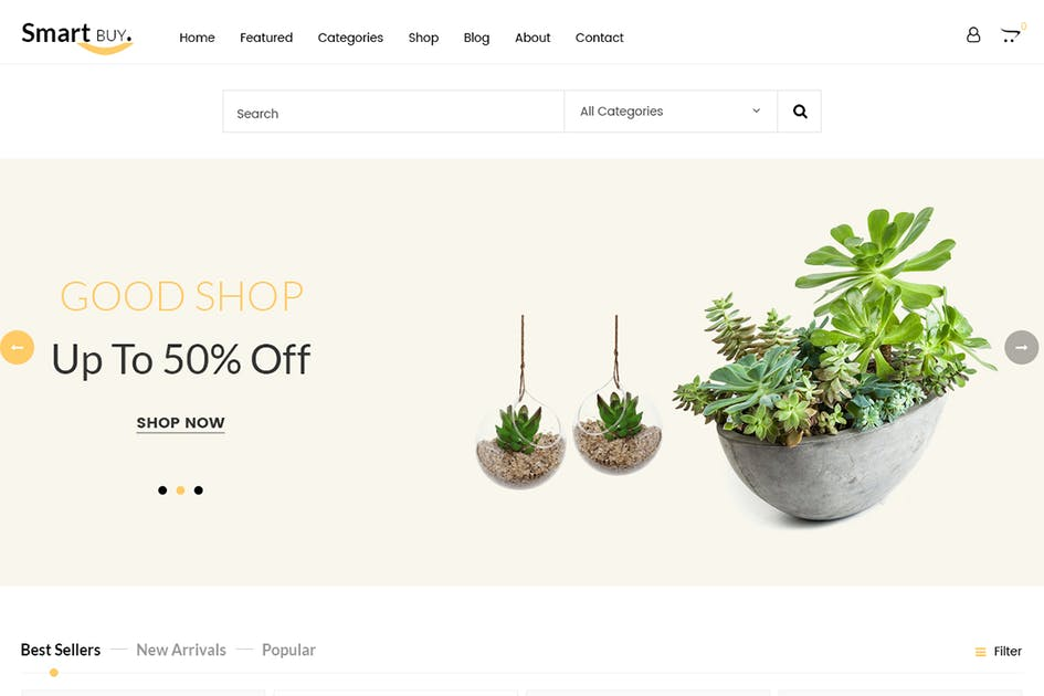 Download Smartbuy - Prestashop For Digital and Garden Home by 7uptheme