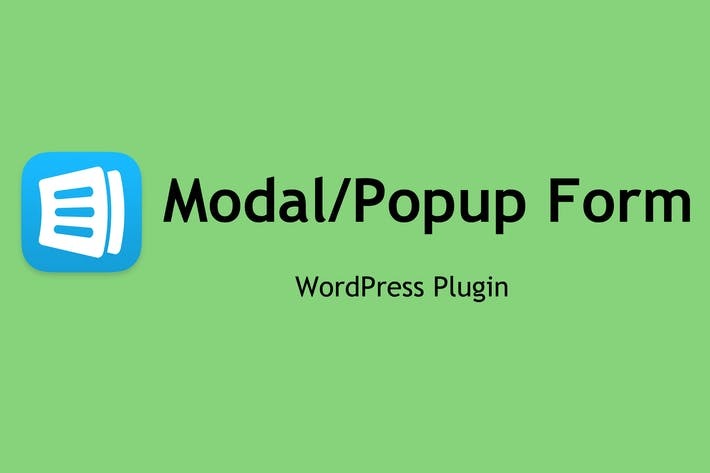 Thumbnail for Modal Form - WordPress Plugin