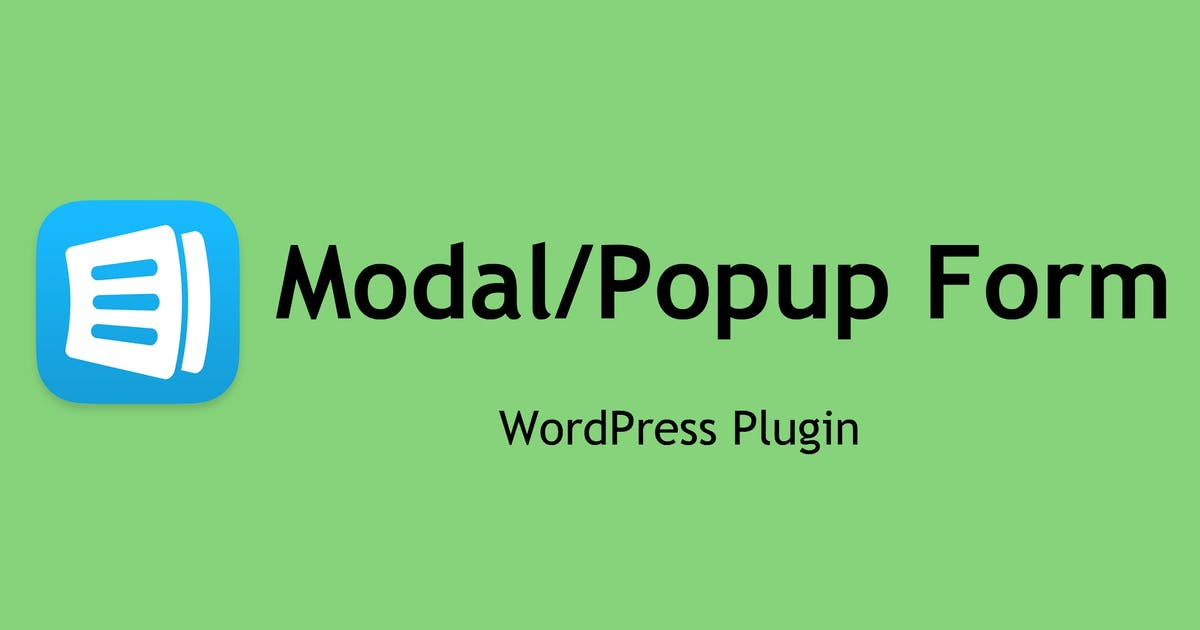 Download Modal Form - WordPress Plugin by e-plugins