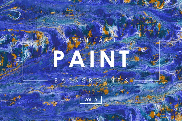 Thumbnail for Abstract Paint Backgrounds Vol. 9