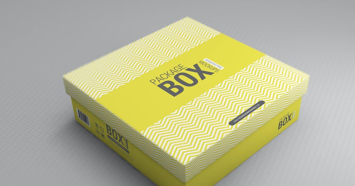 Package Box Mockups Vol3 by Wutip