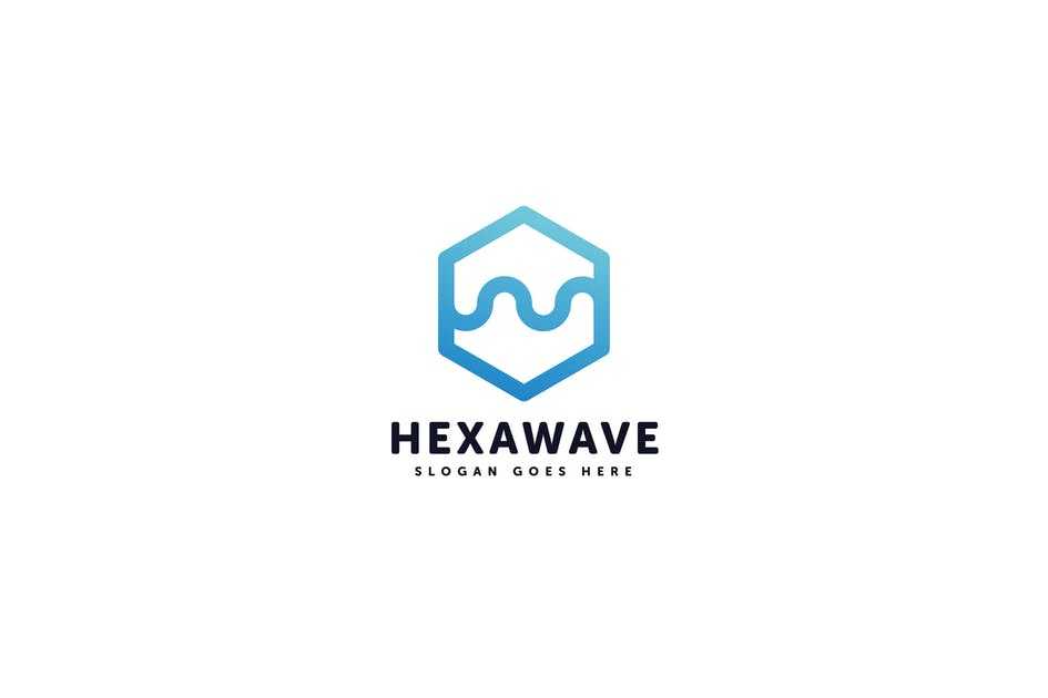 Download Hexa Wave Logo Template by Pixasquare