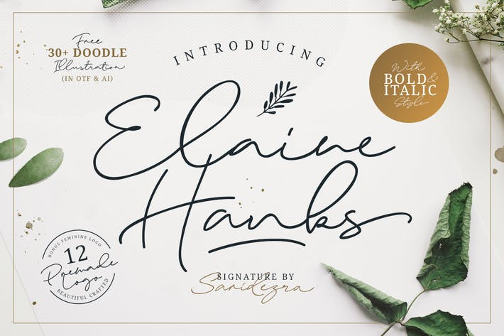 Thumbnail for Elaine Hanks (+Feminine Logo Pack)