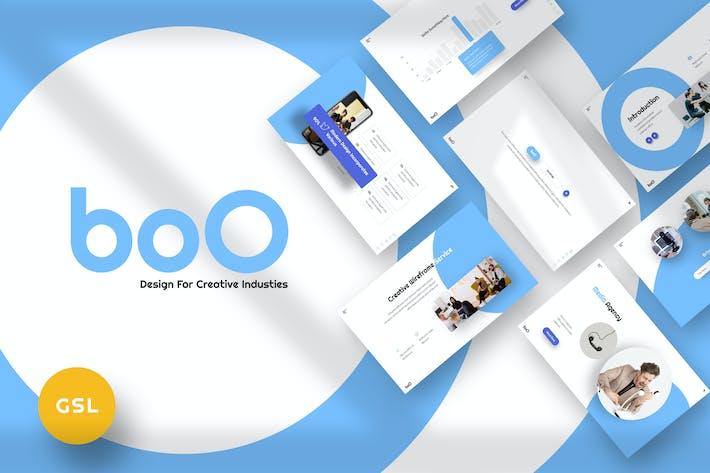 Thumbnail for BoO - Агентство Google Слайды Шаблон