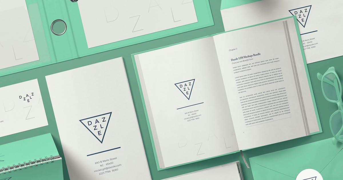 Download Stationery Branding Mockup Scenes by zippypixels