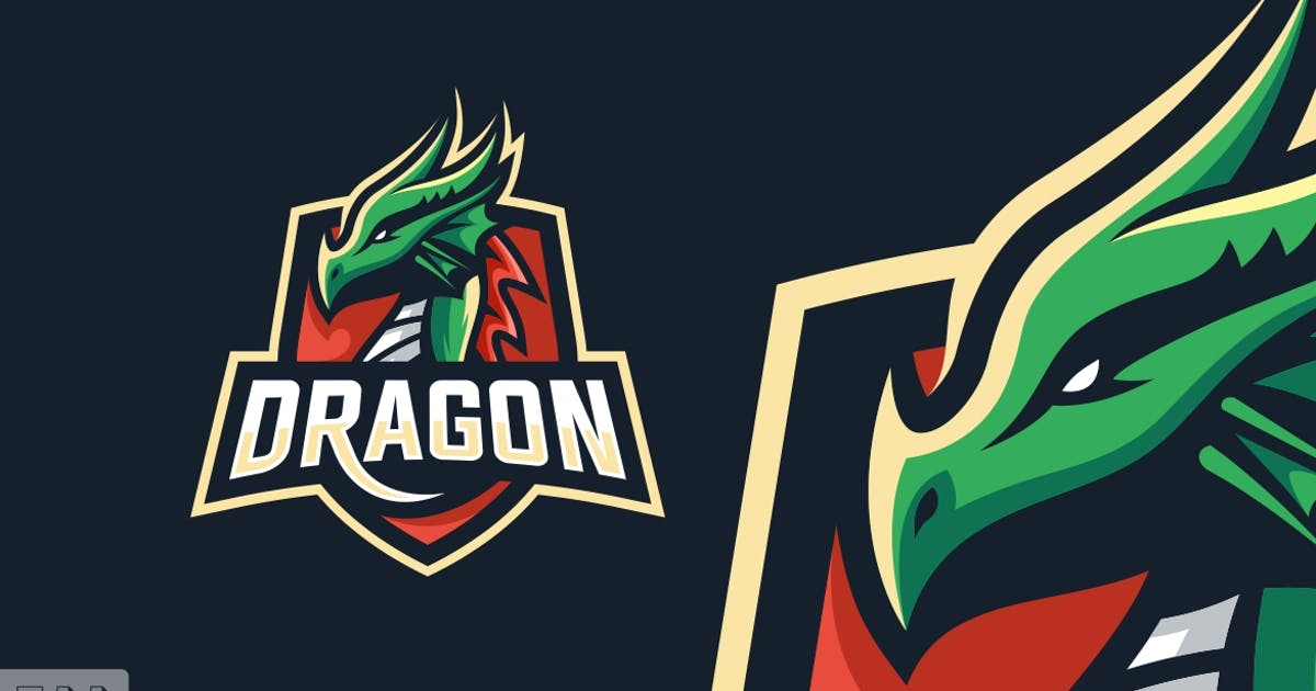 Download Dragon Sports and E-sports Style Logo Template by ivan_artnivora