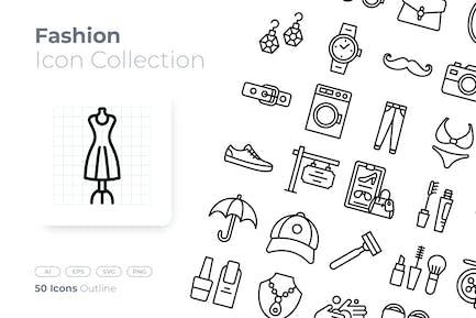 Fashion Outline Icon
