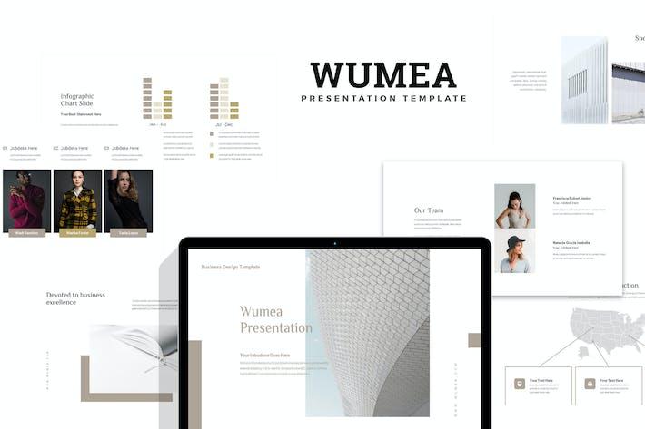 Thumbnail for Wumea: Бизнес-стратегия Google слайды