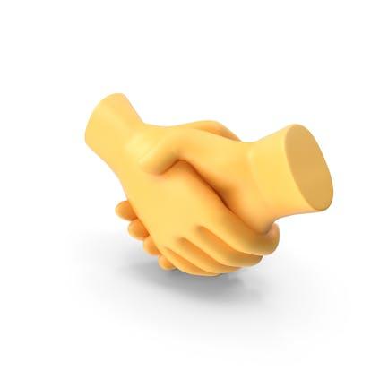 Жест рукопожатия Emoji