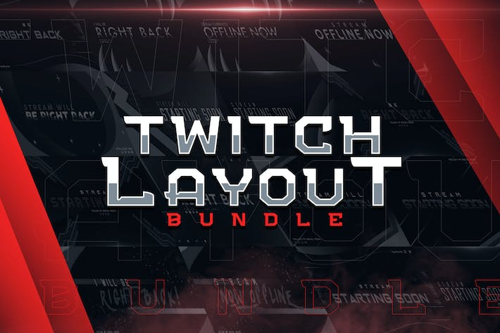 Thumbnail for Twitch Layout Creator Bundle