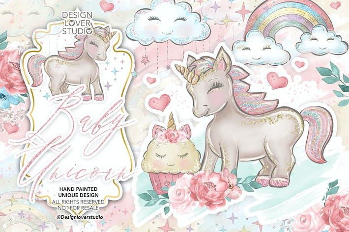 Thumbnail for Baby Unicorns design