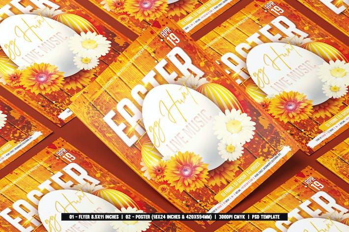 Thumbnail for dépliant de Pâques et affiche